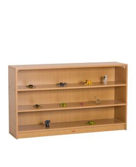 "Closed Back Shelf 4' x 28"""