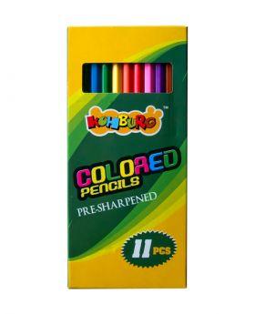 11 Colored Pencils