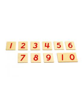 Printed Numerals (Cursive)