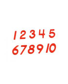 Cut-Out Numerals (USA Print)