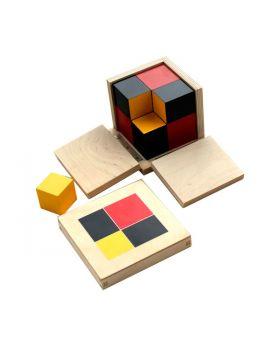 Algebraic Binomial Cube
