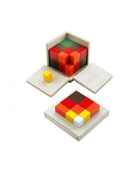 Arithmetic Trinomial Cube