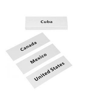 North America Labels
