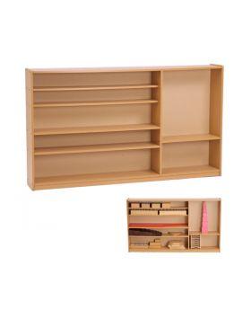Montessori Sensorial Cabinet