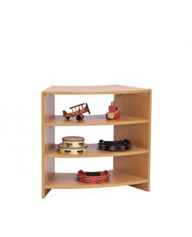 """Sweep Shelf 28"""" w/ Two Shelves"""